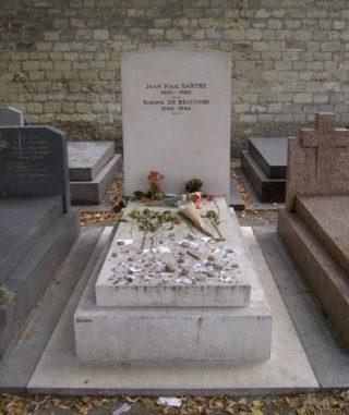Graf van Sartre en De Beauvoir - cc