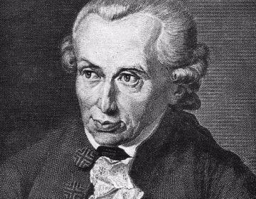 Immanuel Kant, staalgravure door J.L. Raab, naar een schilderij uit 1791 door Gottlieb Doebler