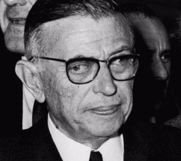 Jean-Paul Sartre in 1967 - cc