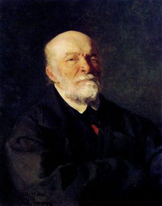Nikolay Pirogov - Ilya Repin, 1881