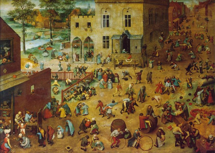 Pieter Bruegel de oude, Kinderspelen (1560)
