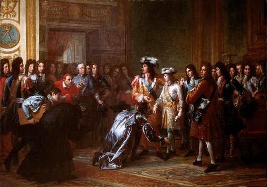 Proclamatie Filips V koning van Spanje