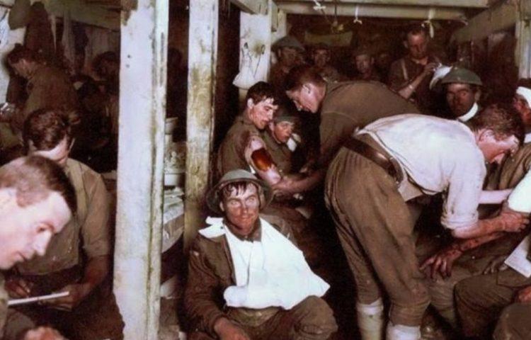Somme De slag aan de Somme - 1916 en de crisis van shellshock