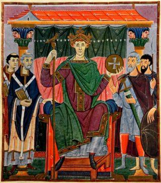 De Romeinse keizer Otto III