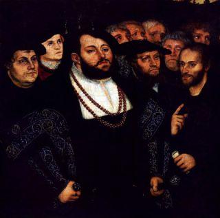 Frederik de Wijze en Maarten Luther
