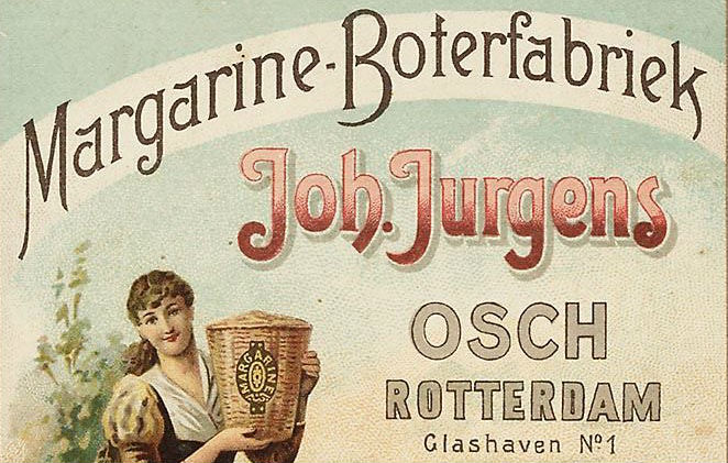 Margarine Boterfabriek. Reclame 1893