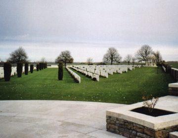 Militaire begraafplaats Bedford House - cc