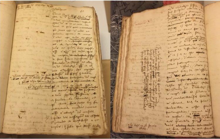Een minuut van een brief van 16 januari 1654 aan Amelie van Brederode, barones van Slavata, vanuit Den Haag verzonden en in het Frans gesteld. Deze minuten zijn binnenkort opvraagbaar bij het Nationaal Archief, inv.nr. 3.01.17, 2645.