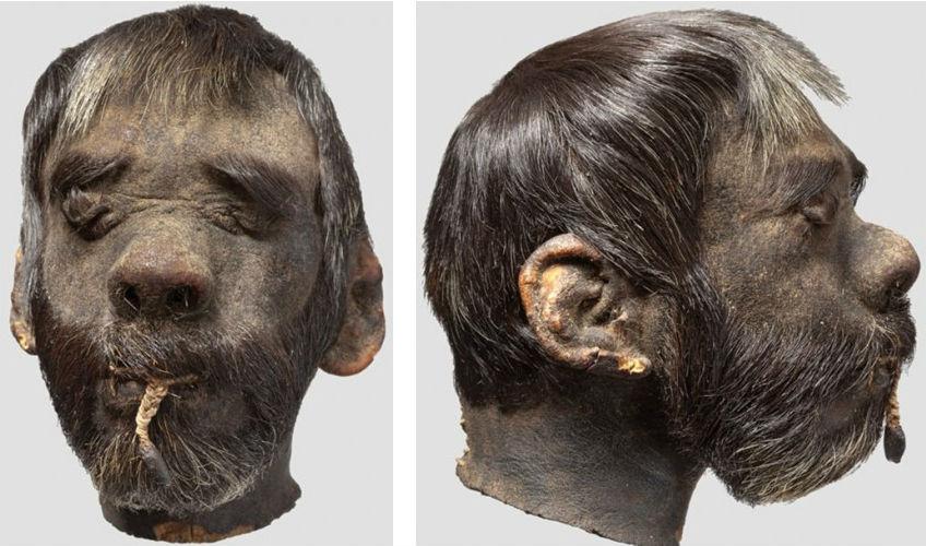 Te koop: 150 jaar oud gekrompen hoofd