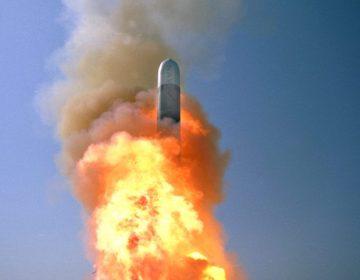Lancering van een Amerikaanse kruisraket - cc