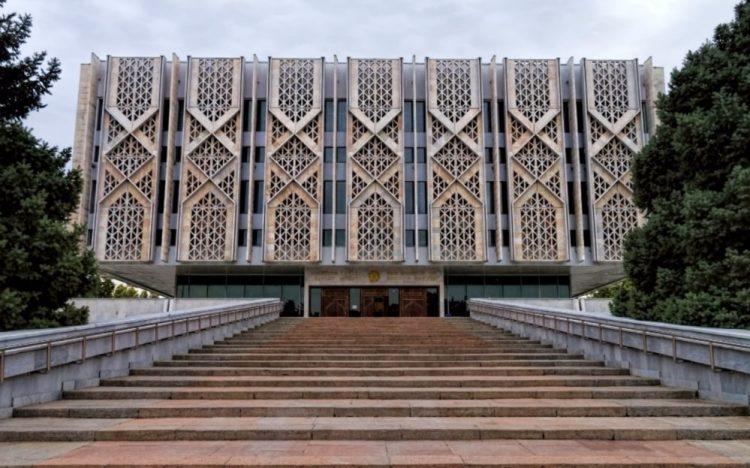 Museum in Tashkent (Oezbekistan) - cc