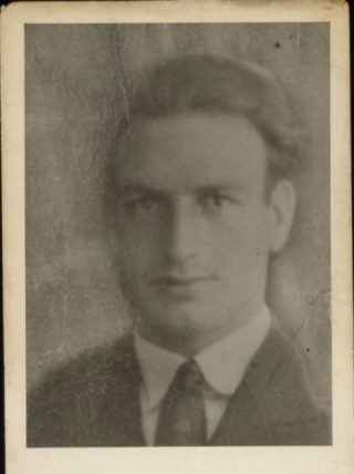 Pasfoto Willem Kraan. Stadsarchief Amsterdam