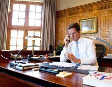 Premier Mark Rutte in het Torentje - cc