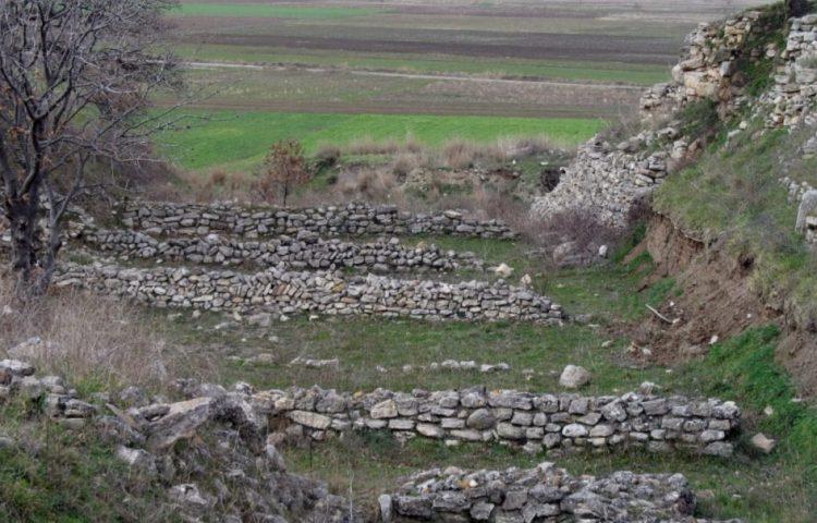 Zicht vanaf Hisarlık - cc