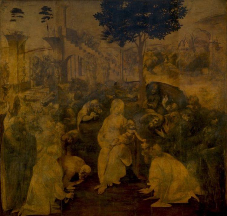 Aanbidding der Wijzen is een onvoltooid schilderij van Leonardo da Vinci uit 1481.