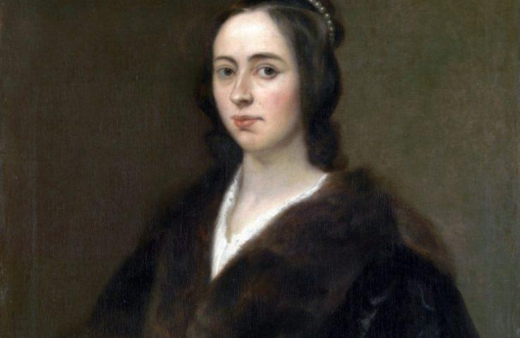 Anna Maria van Schurman, portret door Jan Lievens (1649)