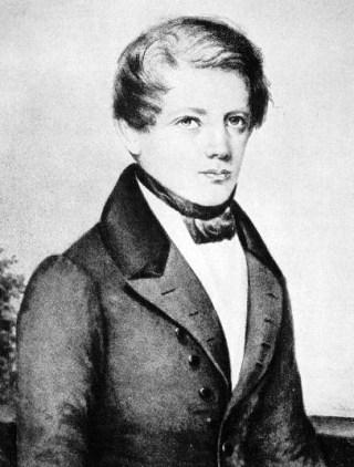 Bismarck in 1836