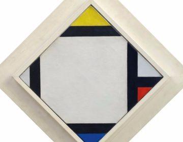 Contra-compositie VII - Theo van Doesburg (Museum De Lakenhal)