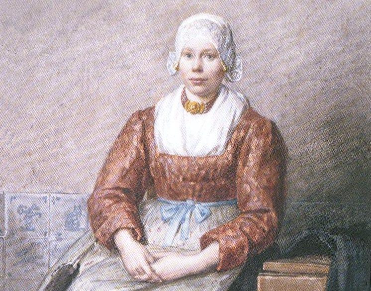 Evertje Schouten (1852-1945) - Voedster van prinses Wilhelmina