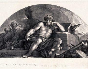 Hephaistos volgens C. Bloemaert