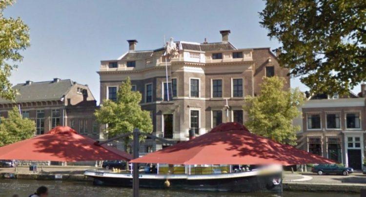 Hodshon Huis aan het Spaarne in Haarlem (Google Street View)