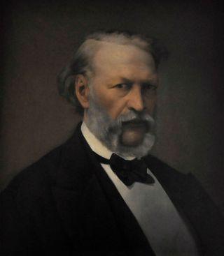 Hendrik Conscience (ca. 1870) door Hendrik De Pondt