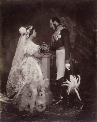 Victoria en Albert, Buckingham Palace, 1854