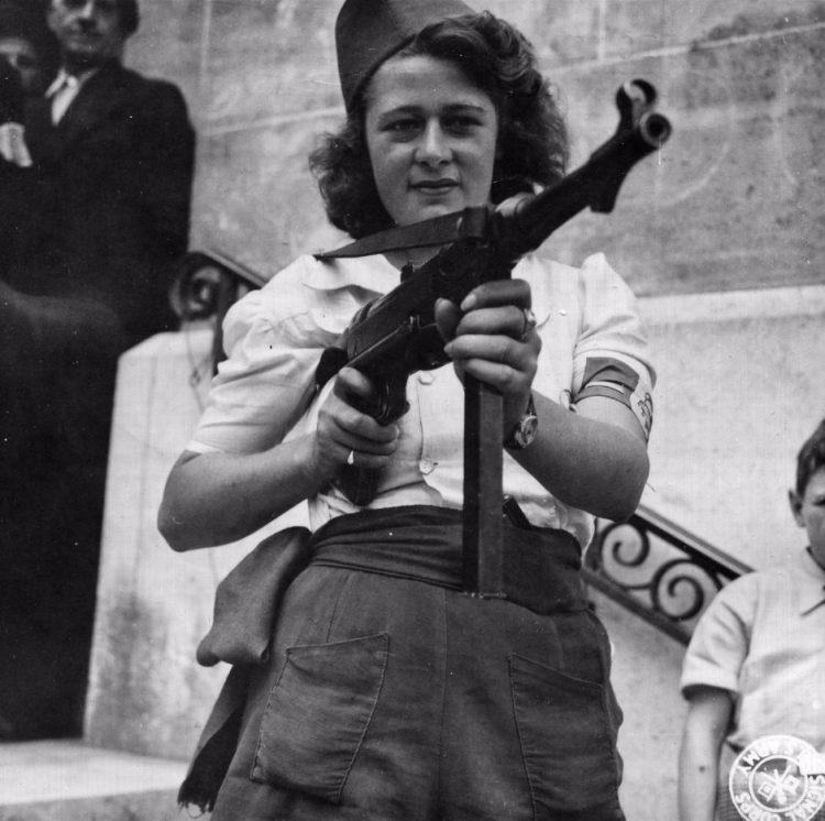 Simone Segouin, een stoere Française