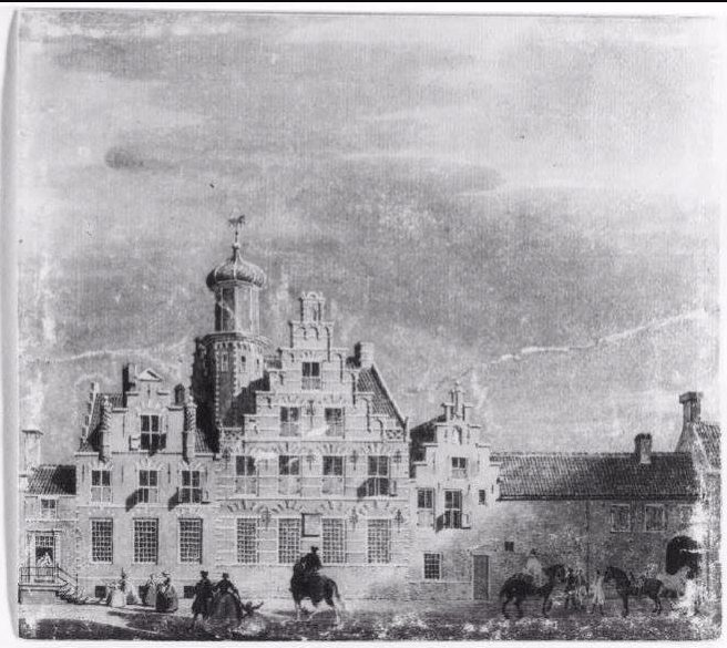 Assendelft Huis van Assendelft, Den Haag. Thans: Westeinde 12