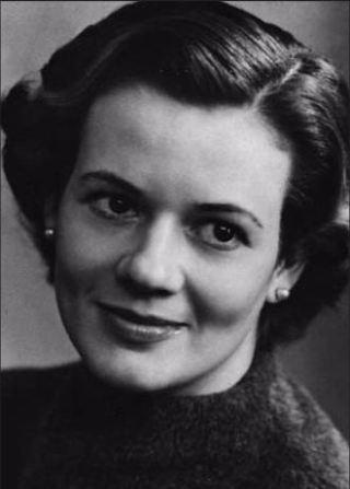 Ingrid in 1957. Het jaar dat ze Willem ontmoet.