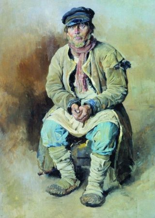 Russische boer - Sergei Vinogradov, 1897
