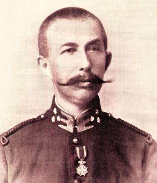 Colijn als kapitein van het Korps Marechaussee te Atjeh