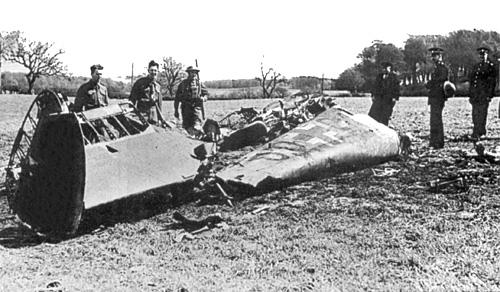De Messerschmitt van Rudolf Hess