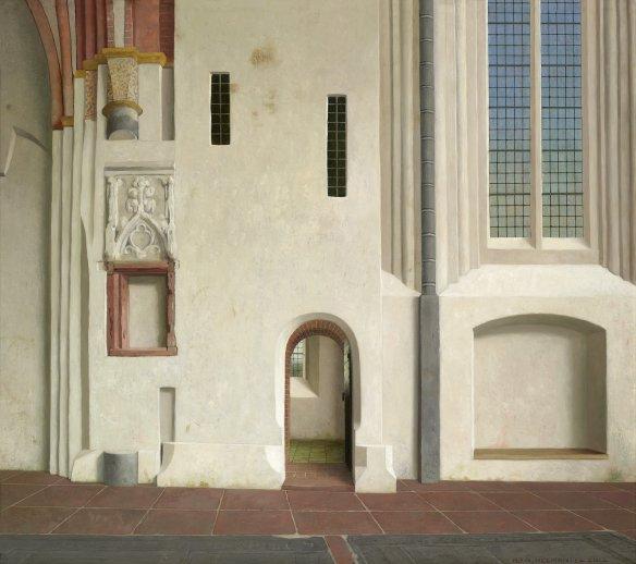 De noordmuur van de Nicolaikerk in Appingedam - Henk Helmantel (Groninger Museum)