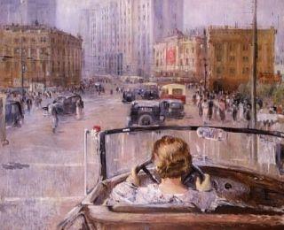Joeri Pimenov - Het nieuwe Moskou