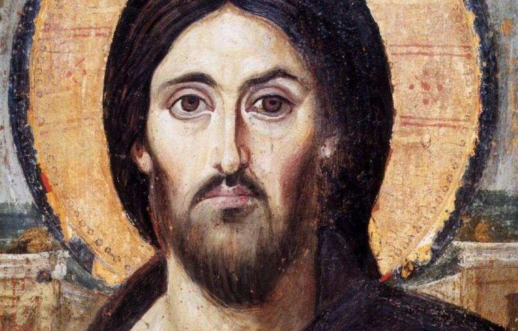 Christus Pantocrator, icoon uit het Katharinaklooster in de Sinaï.
