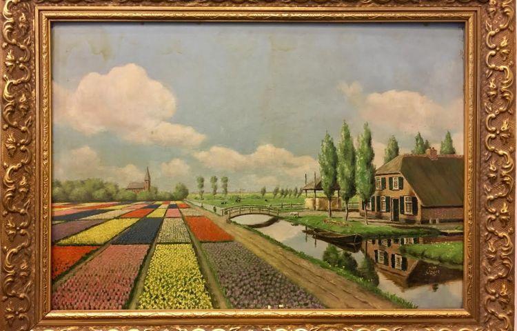 Verzetsman john dons maakte dit schilderij in de nacht voor zijn executie - Foto van slaapkamer schilderij ...