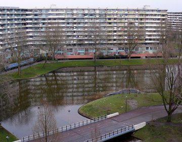 Gooiord in de Bijlmer, Amsterdam. Bron: cc/Hilton Teper