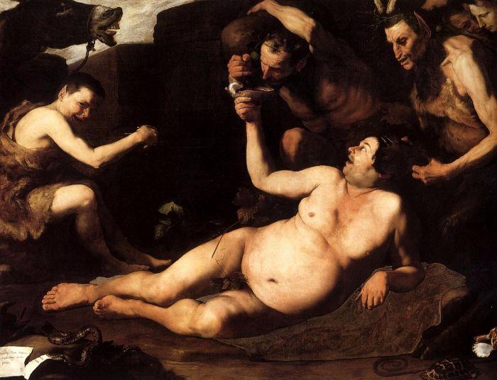 Dronken Silenus - José de Ribera