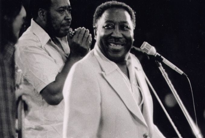 Muddy Waters met James Cotton, 1971