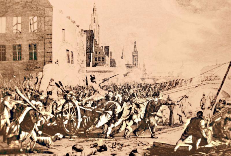 Politieke spanningen en religieus geweld tijdens de Brabantse Omwenteling (1789-1790)