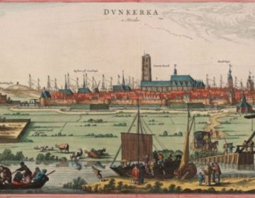 Duinkerken in 1641 (Flandria Illustrata)