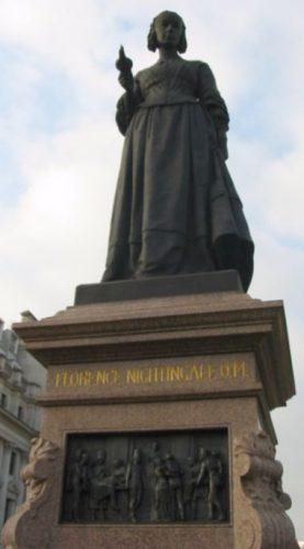 Standbeeld van de verpleegster in Londen - cc