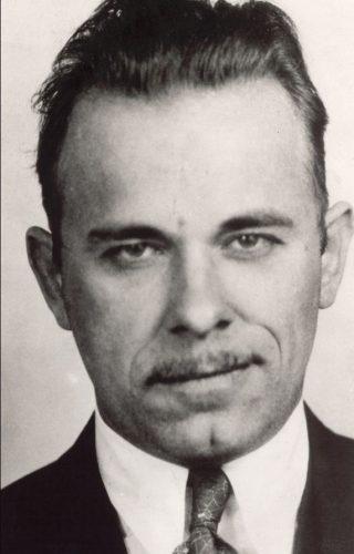 Mugshot van John Dillinger