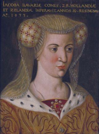 Portret van Jacoba van Beieren