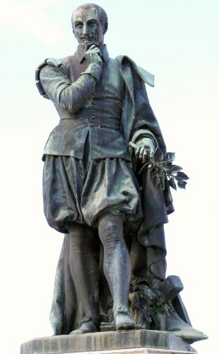 Standbeeld van Olivier de Serres (1539-1619) -  cc