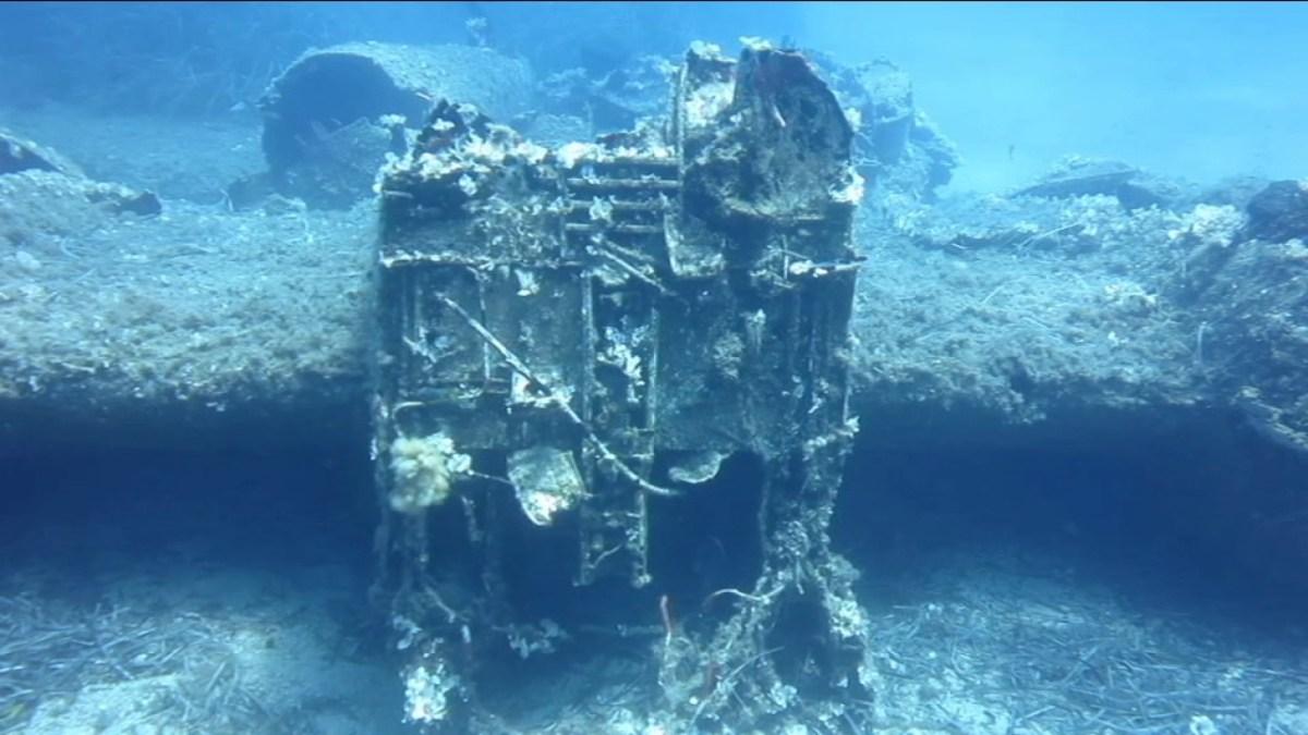 Bommenwerper uit WOII gevonden bij Ikaria