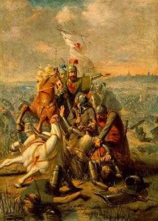 Slag bij Vlaardingen - De hertog van Lotharingen wordt door Dirk III van Holland bij Dordrecht verslagen