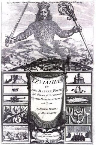 Voorblad van 'Leviathan'