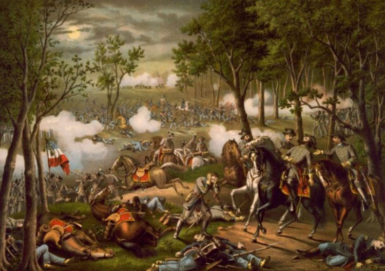 Slag bij Chancellorsville (Kurz en Allison)